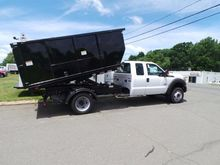 2016 FORD F550 Roll off truck