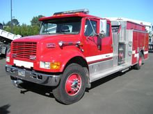 1996 INTERNATIONAL 4900 Fire tr