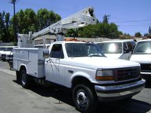 1997 FORD F450 Crane truck