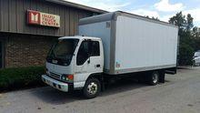 1996 ISUZU NPR Box truck - stra