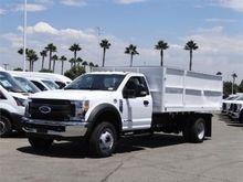 2017 FORD F550 Chipper truck