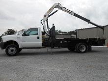 2004 FORD F550 Crane truck