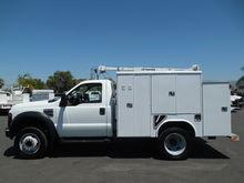 2008 FORD F450 Crane truck