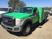 2011 FORD F450 Fuel truck - lub