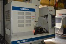 2002 OKUMA MC-V4020 CNC 4 AXIS