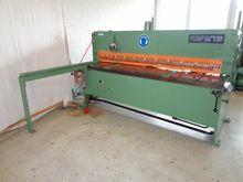 Safan Hydraulic guillotine shea
