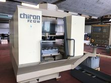 CHIRON CNC single spindle machi