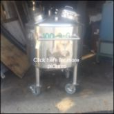 Used GALLON S/S TANK