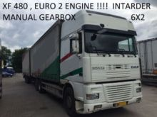 Used Euro 2 Xf 480 Hp 6X2 Manual Gearbox for sale  Top