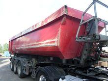 2008 flatbed semi-trailer