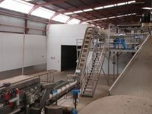 Frozen food processing factory