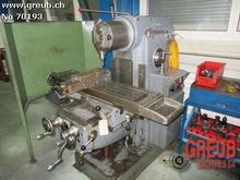 SCHAUBLIN 53 Universal milling