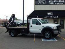 2007 Ford F550 Flatbed Knuckle-