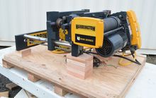Used Harrington hoist, overhead