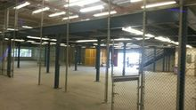 Mezzanine 2,500 SQ.FT. with mat