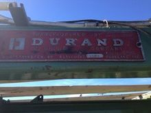 Durand Plywood Stacker