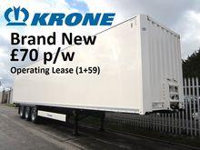 2016 KRONE 4m Boxvan 3178