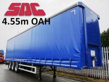SDC 4.55m Curtainsider 3254