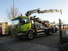 2000 Scania P114 340 6x2 4 hiab