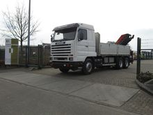 1996 Scania R143 420 6x2 tipper
