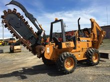 Trencher : CASE 860 TURBO