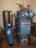 FULTON STEAM BOILER, OIL FIRED,