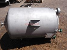 384 LITRE STAINLESS STEEL TANK,
