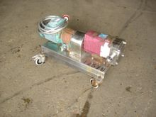 SSP STAINLESS STEEL LOBE PUMP,