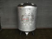 810 LITRE STAINLESS STEEL TANK