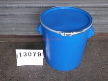 Used 37 LITRE BLUE P
