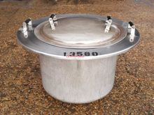 100 LITRE STAINLESS STEEL TANK