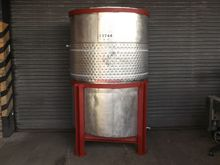 2,100 LITRE STAINLESS STEEL OPE