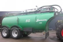 2012 Samson SG 23 pump vat