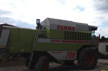 1995 CLAAS mega 208 Combine har