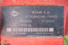 2002 Kuhn GMD 602 Bodenbearbeit