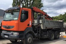 2008 Renault Kerax Body tipper