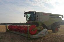 2014 CLAAS LEXION 760 Combine h