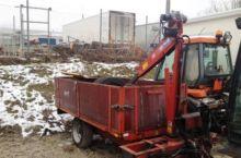 Used 2 tons med kran