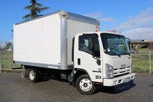 2015 Isuzu NPR 14ft Box Van