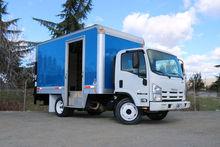 2011 Isuzu NQR 14ft Box Van Lif