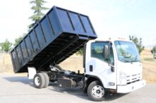 2011 Isuzu NPR 14ft Dump