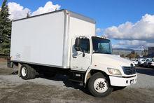2007 Hino 268A 18ft Box Van Lif