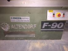 Alendorf F- 90 sliding table sa