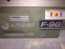 Alendorf F- 90 sliding table sa