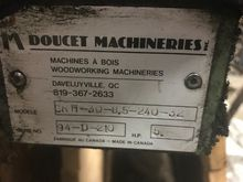 Doucet Machineries 8.5' x 30 se