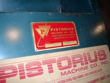 PISTORIUS AUTOMATIC SAW-ASC 13