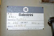 BALESTRINI Mortisers-MICRON