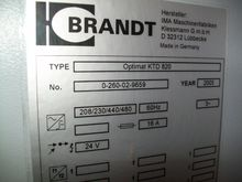 BRANDT CONTOUR EDGE BANDER WITH