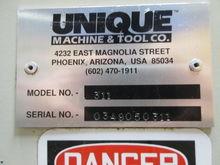 UNIQUE DOUBLE COPE MACHINE-311