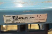ADVANCED EQUIPMENT LIFT TABLE-P